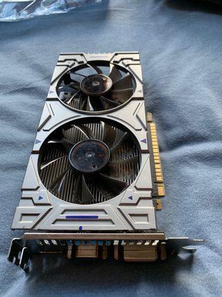 Gráfica Nvidia GTX550TI 4gb averiada