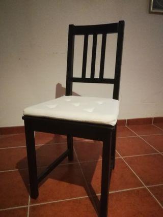 Madera Segunda 40 Por Mano Negras 9hied2 Ikea De Sillas 4 tCrQdsh