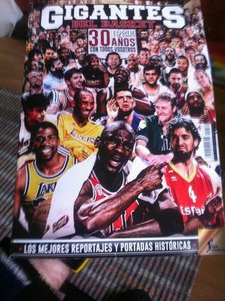 revista especial 30 aniversario gigantes basket
