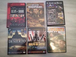 peliculas DVD bélicas