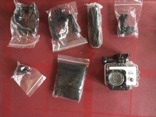 Camara de foto y video sumergible tipo gopro