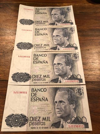 Billetes correlativos