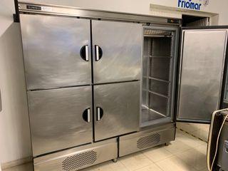 armario acero inox infrico 5 puertas
