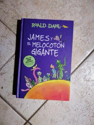 James y el melocoton gigante de Roald Dahl