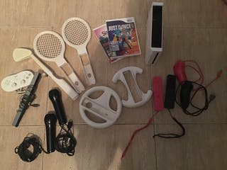 Wii + complementos (Precio negociable)
