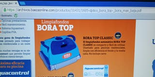 Limpiafondos Bora