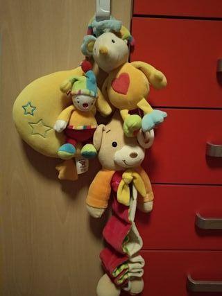 pack muñecos musicales bebés