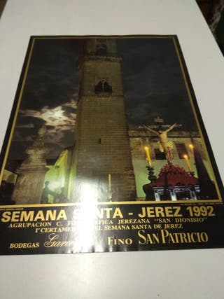 carteles de semana santa de Jerez