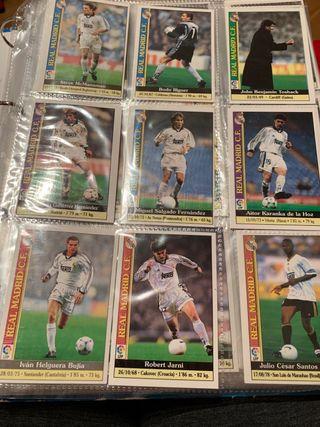Álbum cromos fútbol LIGA 2000