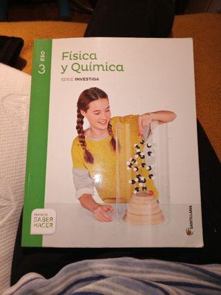 libro fisica y química 3 eso