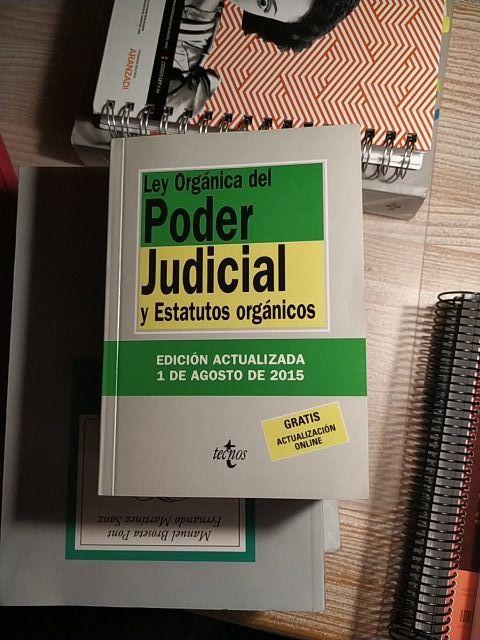 LEY ORGÁNICA DEL PODER JUDICIAL Y ESTATUTOS ORGANI