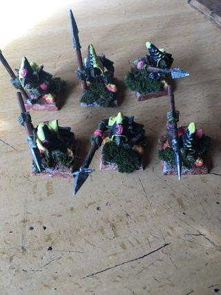 Goblin lanceros warhammer