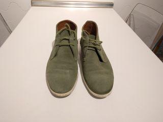 Zapatos caballero T41 ante verdes