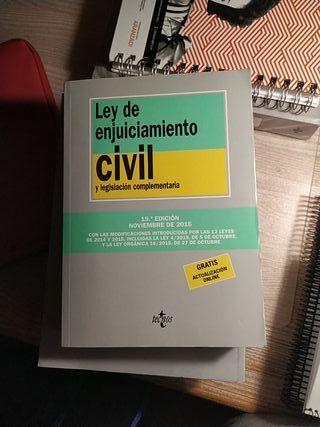 LEY DE ENJUICIAMIENTO CIVIL Y LEGISLACIÓN COMPLEME