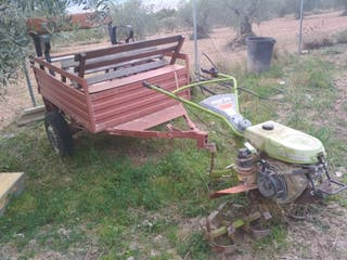 Motoazada mula mecanica agria