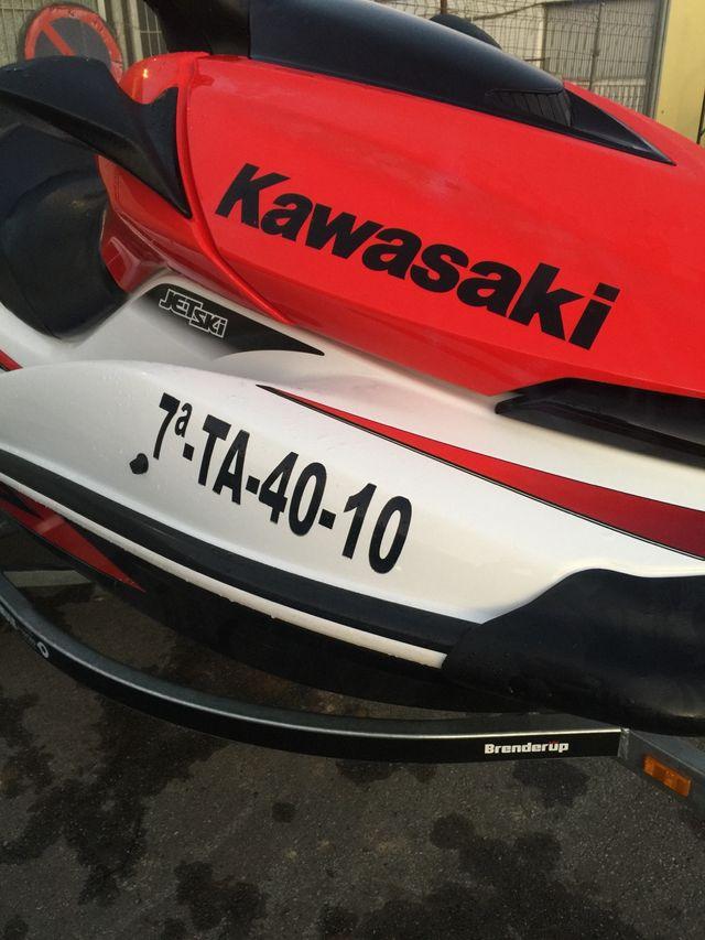 Moto de agua kawasaki ultra