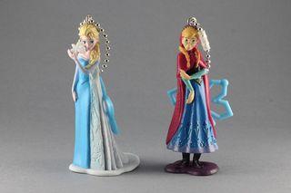 Lote 2 figuras llaveros Disney Frozen