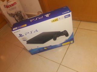 PlayStation 4 Slim 500gb + mando