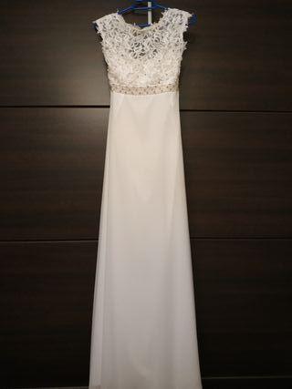 vestido novia y zapatos