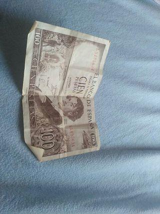 monedas antiguas de franco y billete