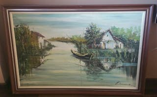 Pintura óleo A.Rocamora