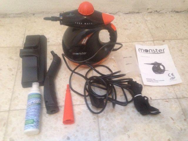 Robot limpiador vapor