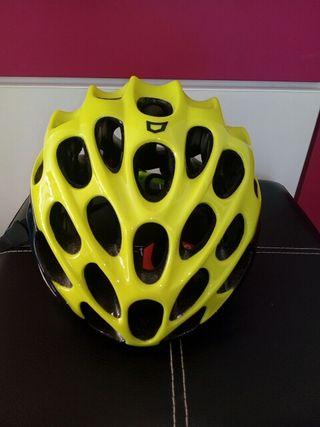 casco catlike mixino amarillo fluor md