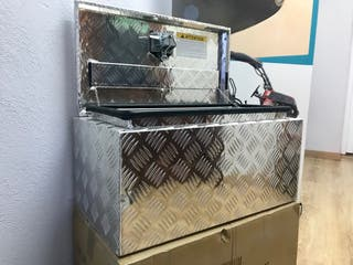 Baúl o cajas en aluminio