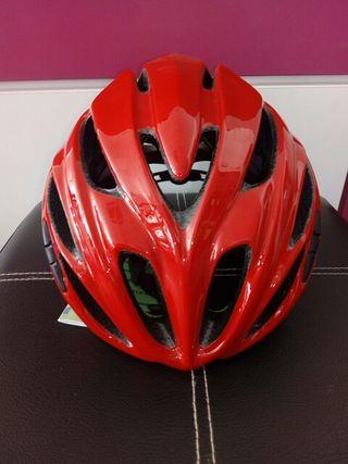 casco kask rapido rojo talla M