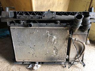 Vendo soporte, radiador y intercooler 1.6 hdi