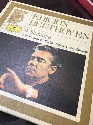Colección de discos BEETHOVEN