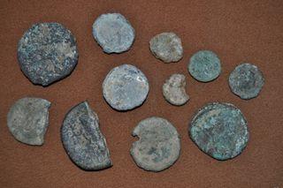 Monedas Romanas.