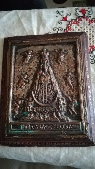 Antiguo cuadro de la Virgen de Begoña