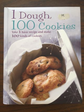 Libro de recetas de galletas. I dough 100 cookies.