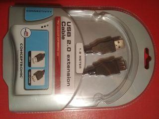 Cable USB macho-hembra NUEVO