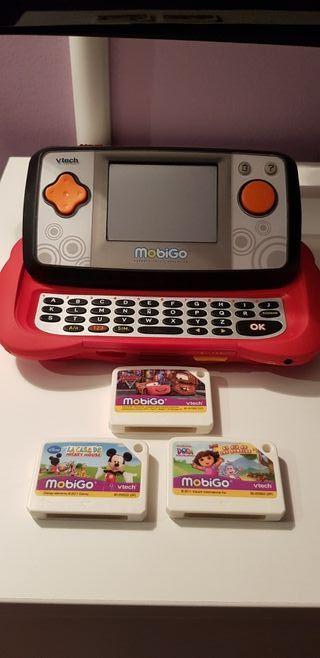 Consola portátil niños Mobigo.