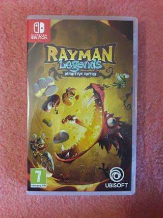 Rayman Legend Nintendo Switch