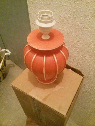pie de lampara ceramica