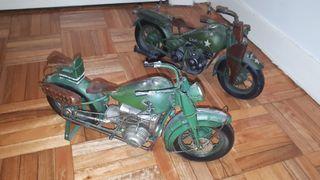 Maquetas de motos.