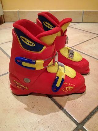 botes esqui junior