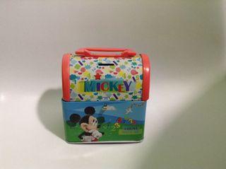 Hucha Caja Metálica mickey