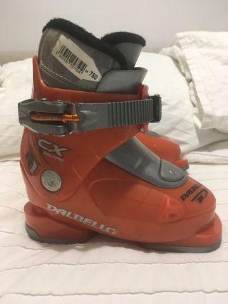 Botas esquí niño T25