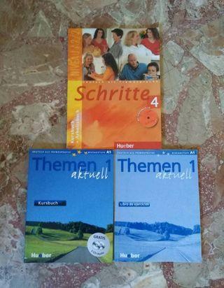 Libro alemán principiante: nivel A1 y A2