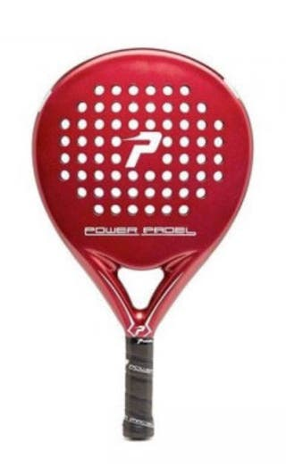 Pala Power Padel Red Mate