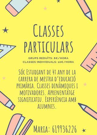 Classes particulars