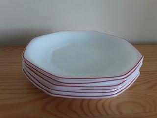 Yoplait. 6 platos hondos, años 80