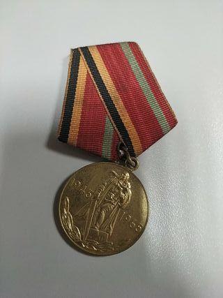 antigua medalla rusa union sovietica