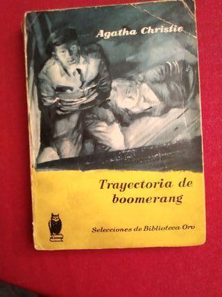 libro antiguo agatha christie