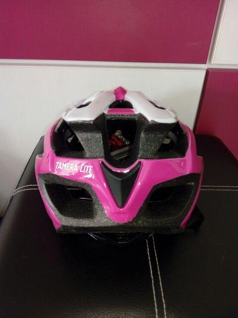 casco spiuk tamera lite rosa