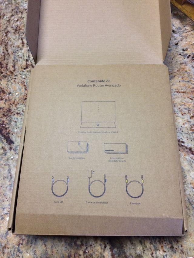 Router vodafone model H 500-s nuevo
